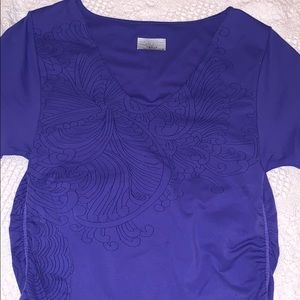 Athleta purple top size medium